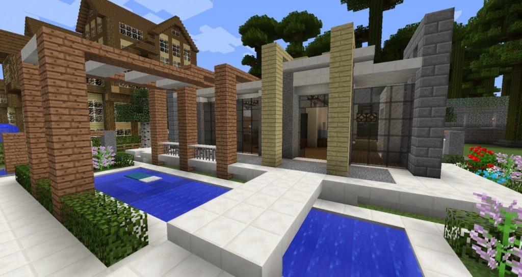 Modernes Haus Bauen Modernes Haus Von Ur Der Exchange Community Die - Minecraft hauser schnell bauen