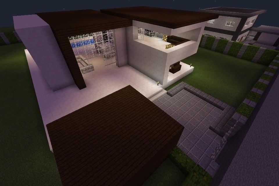 ᐅ Modernes Haus In Minecraft Bauen Minecraftbauideende - Minecraft hauser zeigen