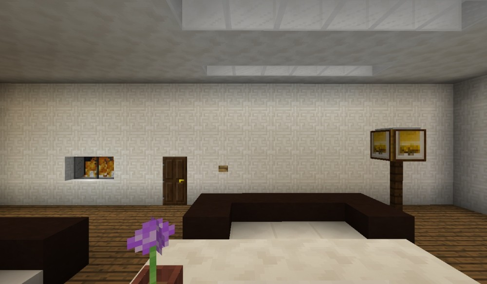 modernes wohnzimmer in minecraft bauen minecraft. Black Bedroom Furniture Sets. Home Design Ideas
