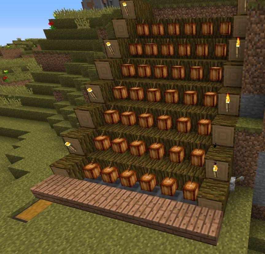 N tzliche kakaofarm minecraft bauideen for Bauideen minecraft