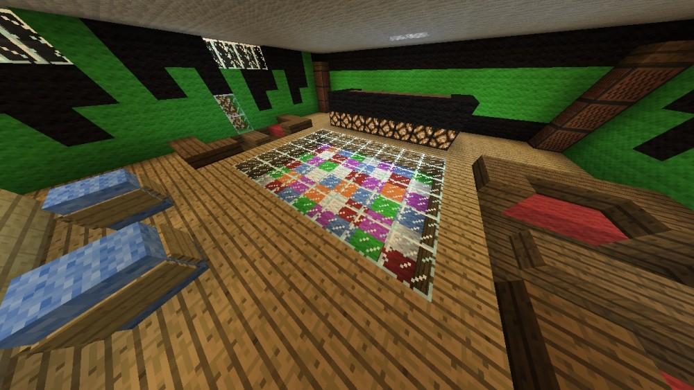 partykeller minecraft bauideen. Black Bedroom Furniture Sets. Home Design Ideas