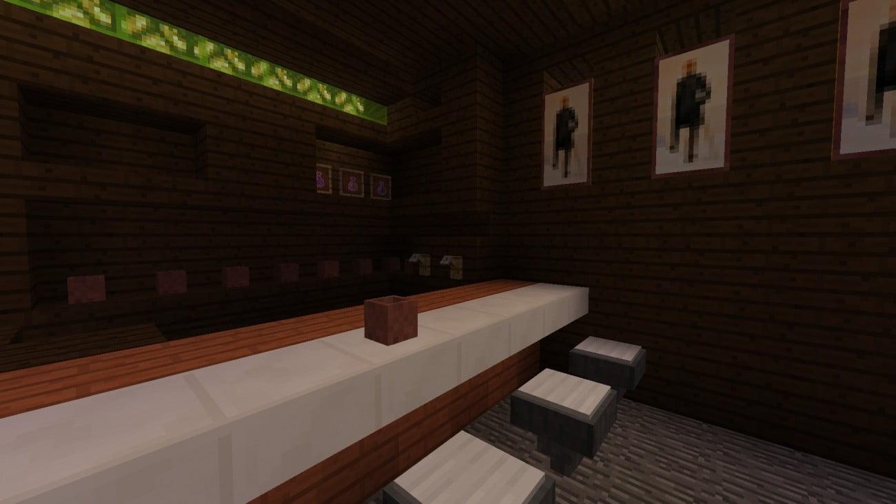 Moderne Häuser Bauen Minecraft K?che Bauen