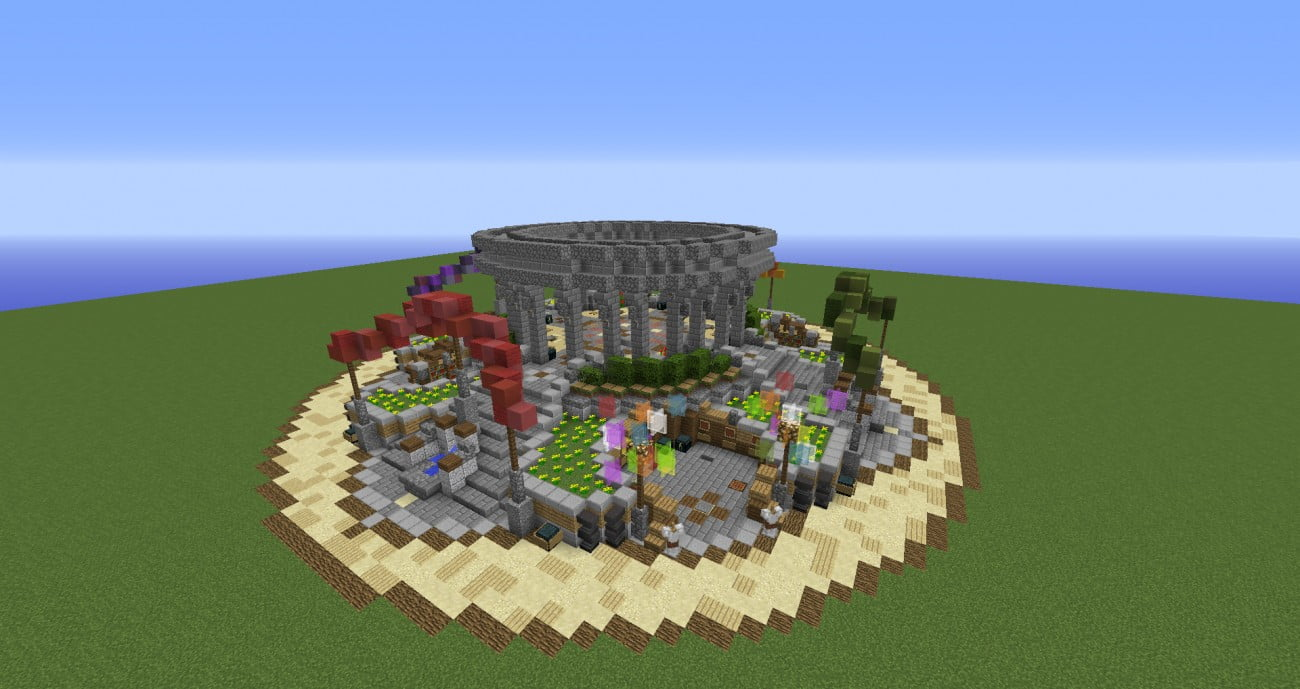 How To Build A Town On Minecraft