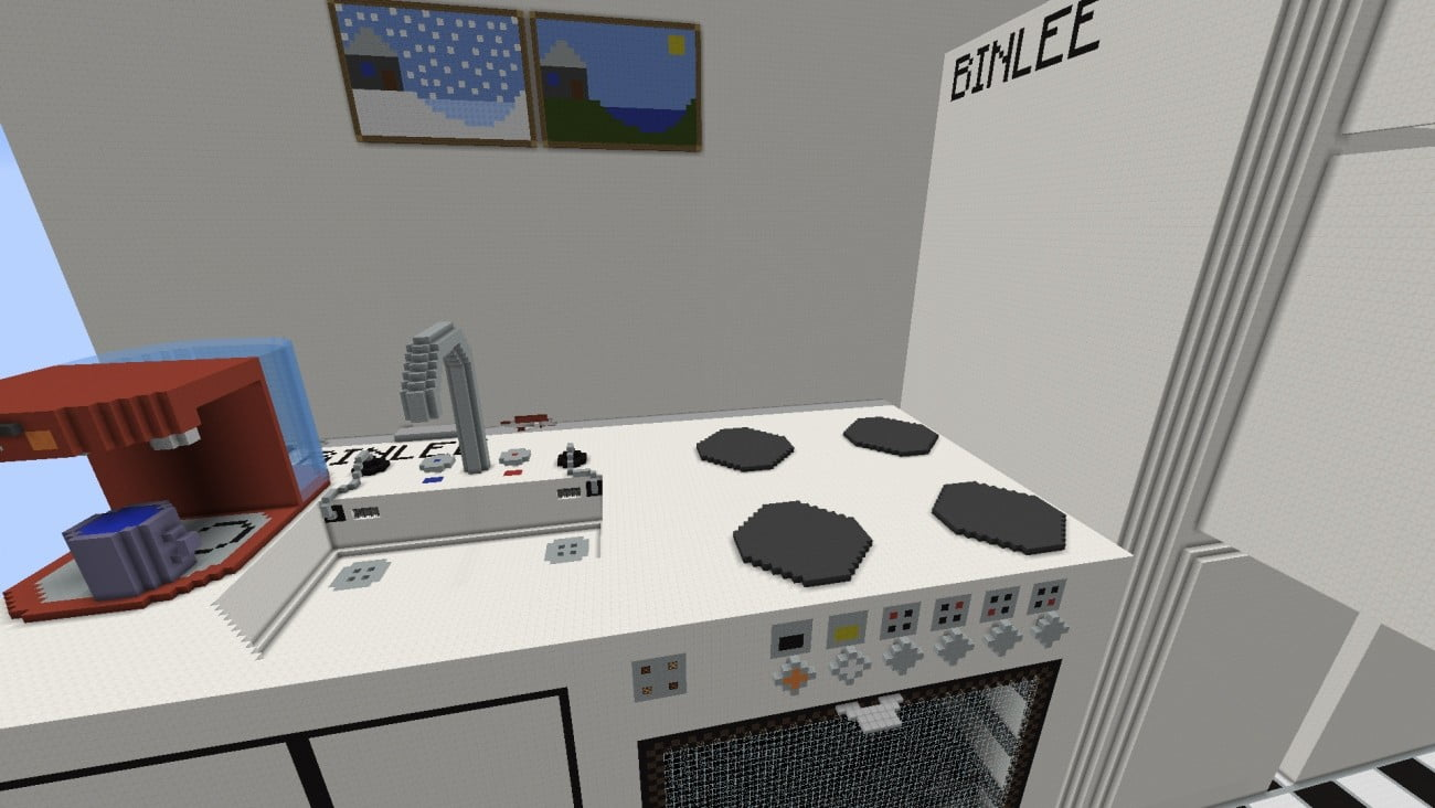 reallife r ume in minecraft bauen minecraft. Black Bedroom Furniture Sets. Home Design Ideas