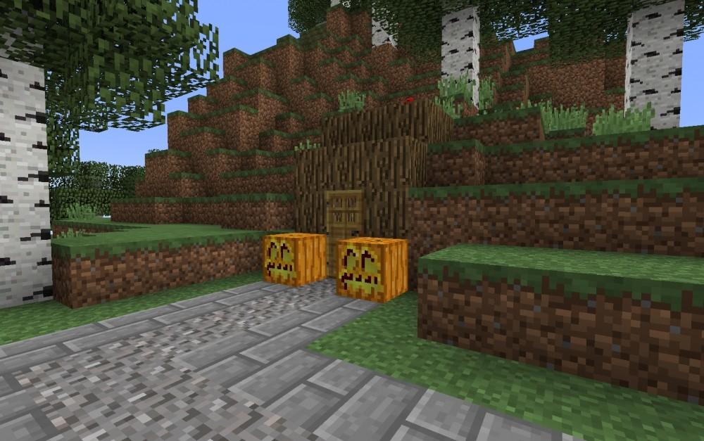 redstone haus im berg in minecraft bauen minecraft. Black Bedroom Furniture Sets. Home Design Ideas