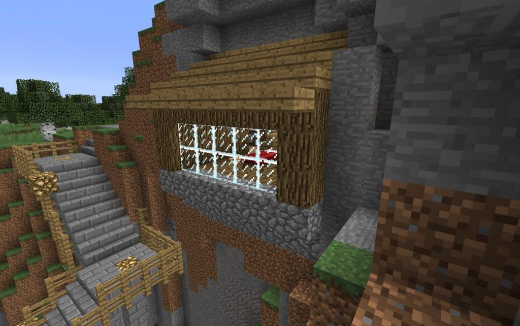 Idee minecraft küche ideen : ᐅ Redstone Haus im Berg in Minecraft bauen - minecraft-bauideen.de