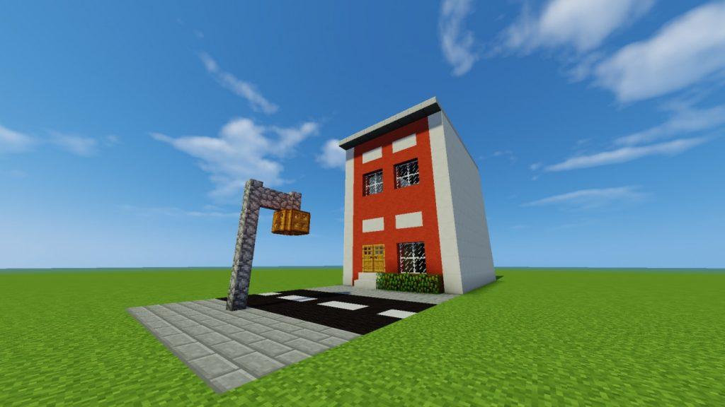 reihenhaus in minecraft bauen minecraft. Black Bedroom Furniture Sets. Home Design Ideas