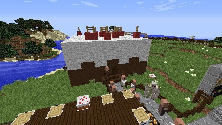 ᐅ Riesenkuchen In Minecraft Bauen Minecraft Bauideen De