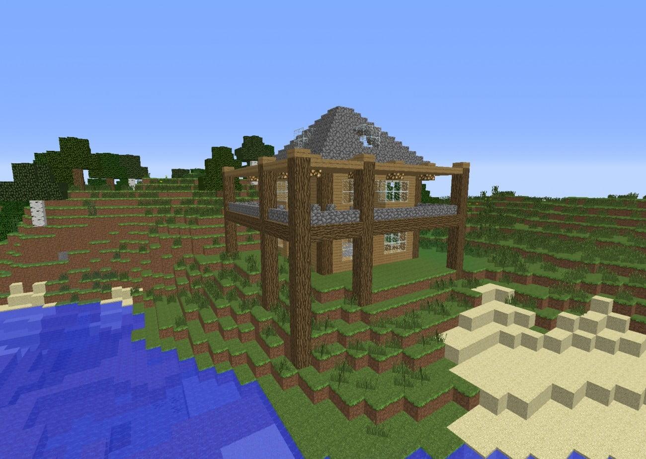 ᐅ Rundum Balkon In Minecraft Bauen Minecraft Bauideen De