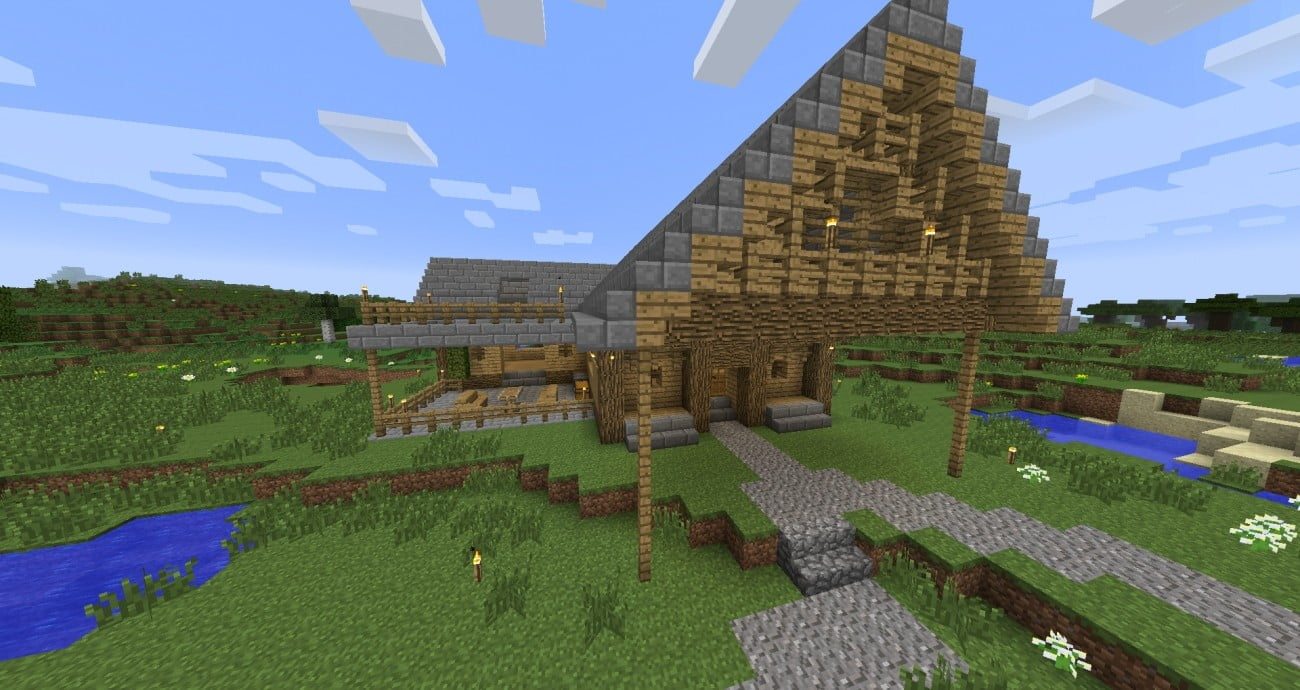 ᐅ Rustikales Haus In Minecraft Bauen Minecraft Bauideen De