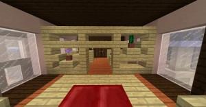 Schlafzimmer mit trennwand minecraft bauideen - Minecraft schlafzimmer ...