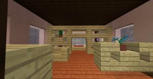 Schlafzimmer mit trennwand in minecraft bauen for Schlafzimmer minecraft