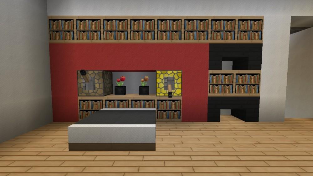 Minecraft schlafzimmer modern minecraft einrichtung mit - Minecraft schlafzimmer ...