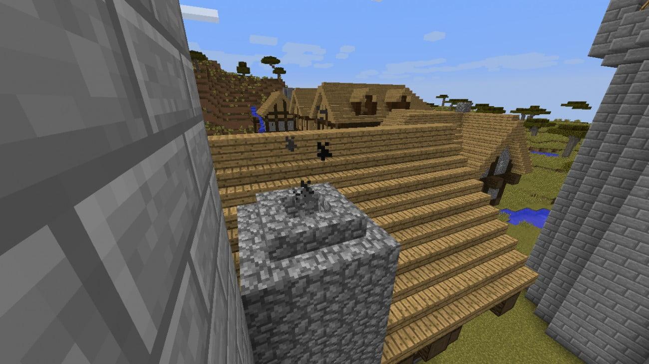 ᐅ schornstein mit beweglichem rauch in minecraft bauen - minecraft