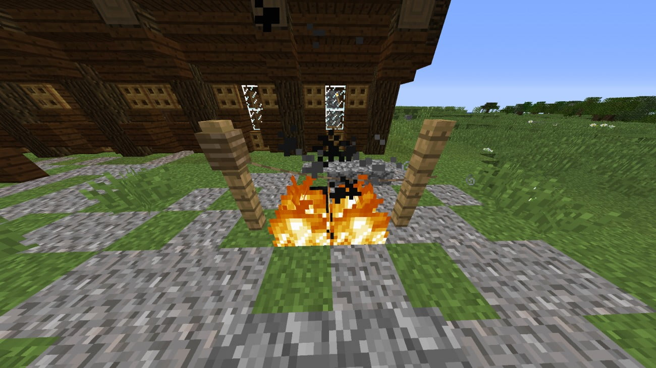 ᐅ Seil Zum Braten Von Tieren In Minecraft Bauen Minecraftbauideende - Minecraft mit tieren spielen