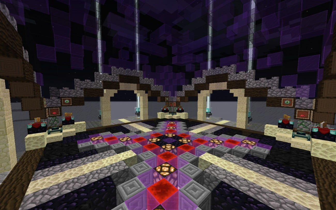 ᐅ Spawn Für Die Enddimension In Minecraft Bauen Minecraftbauideende - Minecraft hauser spawnen