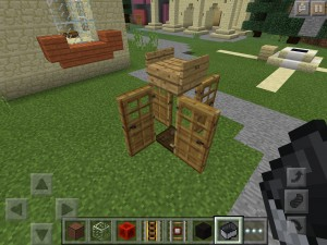 telefonzelle in minecraft bauen minecraft. Black Bedroom Furniture Sets. Home Design Ideas