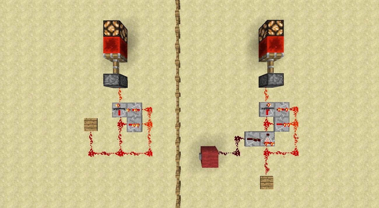 ᐅ Temporäres Redstonesignal In Dauerhaftes Umwandeln In Minecraft - Minecraft redstone hauser bauen