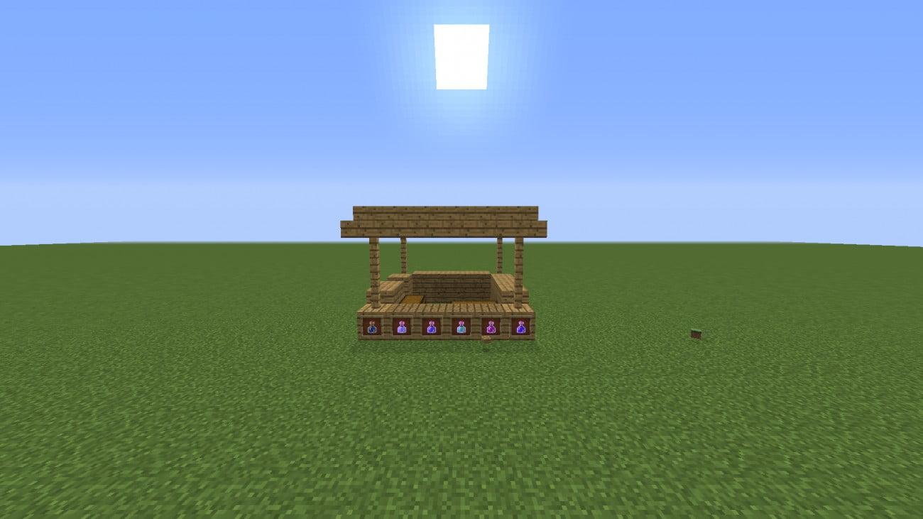 ᐅ Tränke-Shop in Minecraft bauen - minecraft-bauideen.de