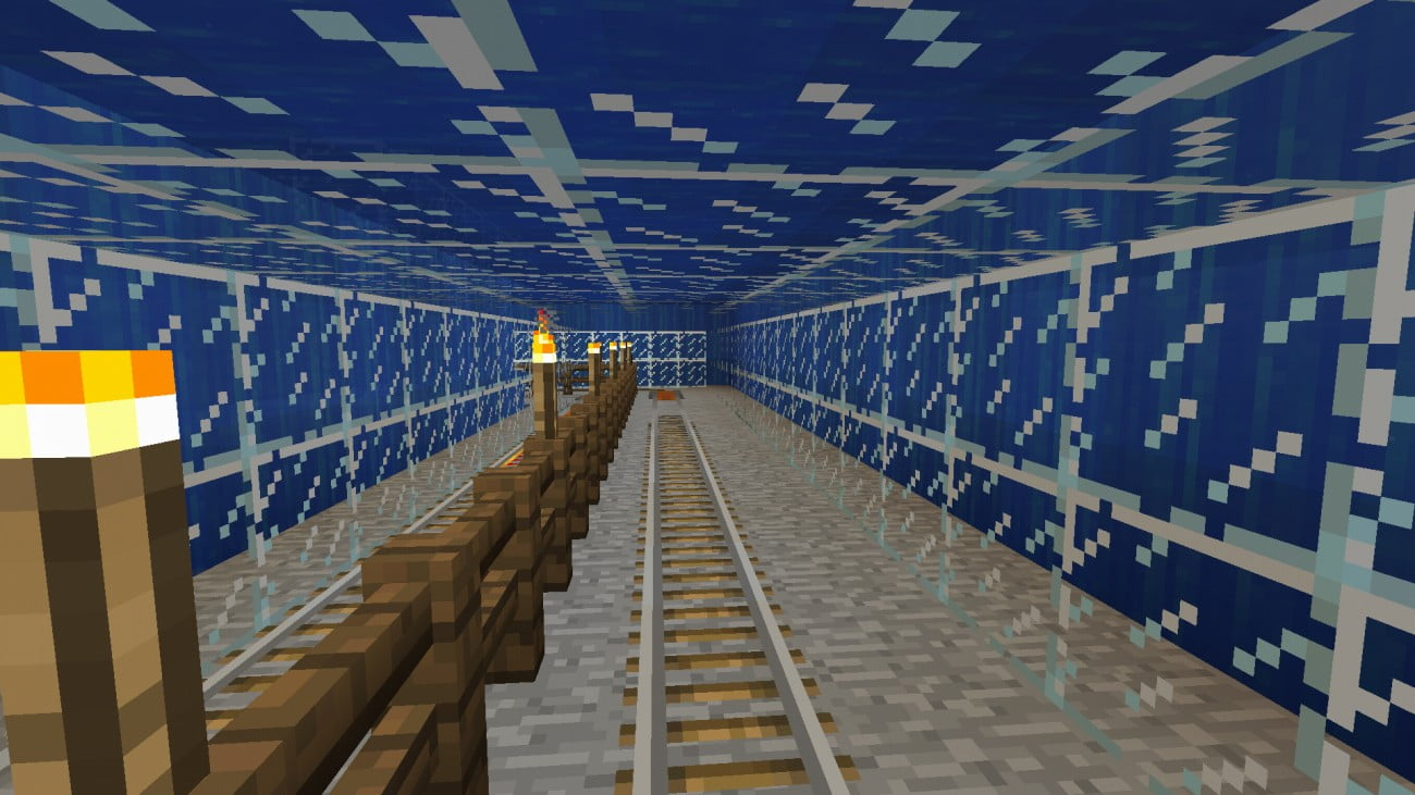 ᐅ Tunnel Durchs Meer In Minecraft Bauen Minecraft Bauideende