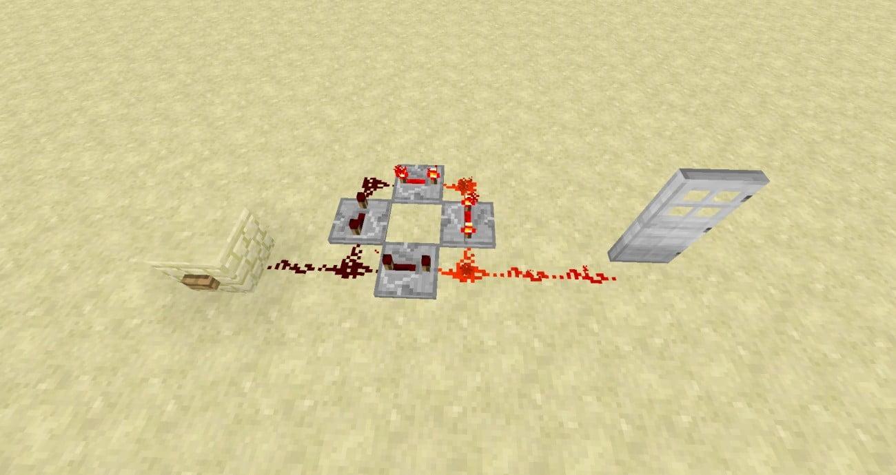 verl ngertes redstonesignal in minecraft bauen minecraft. Black Bedroom Furniture Sets. Home Design Ideas