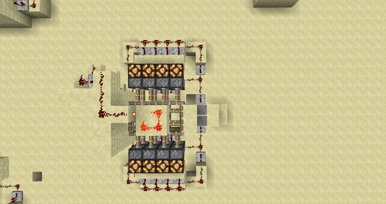 verschiedene hipster t ren in minecraft bauen minecraft. Black Bedroom Furniture Sets. Home Design Ideas