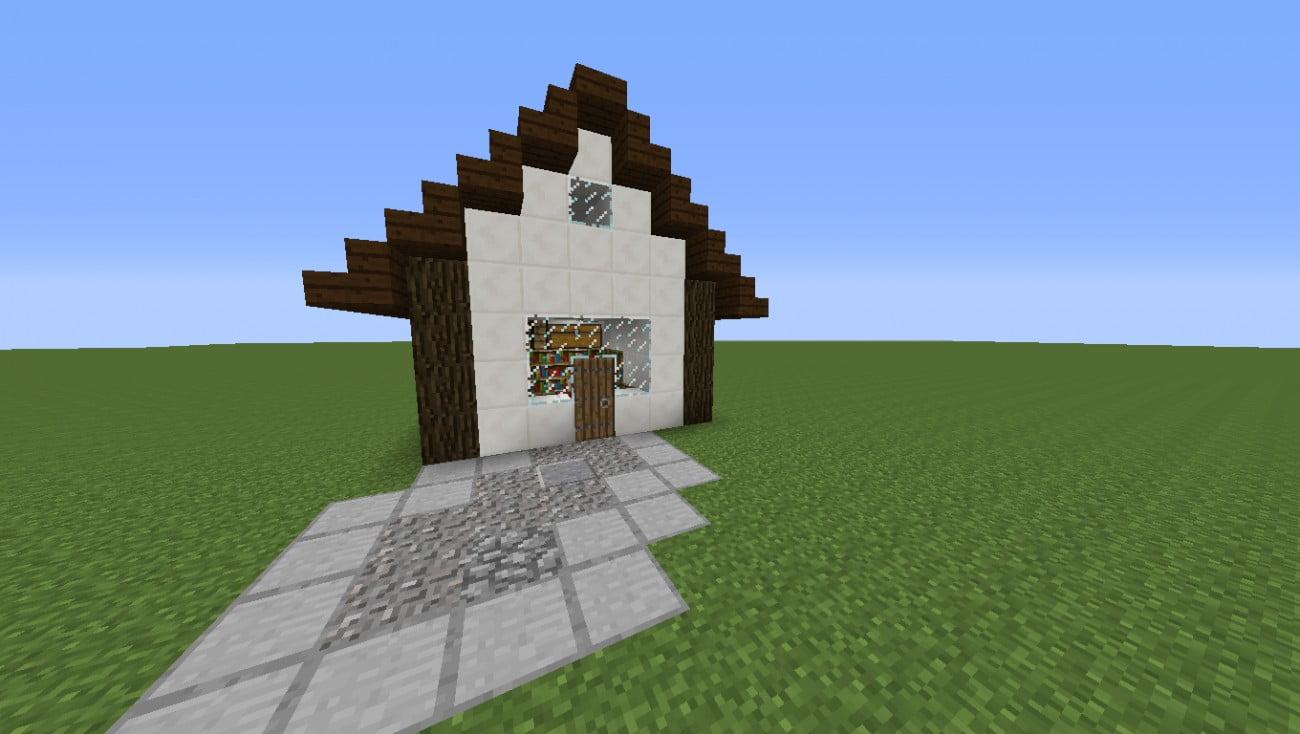 verzauberungshaus in minecraft bauen minecraft. Black Bedroom Furniture Sets. Home Design Ideas