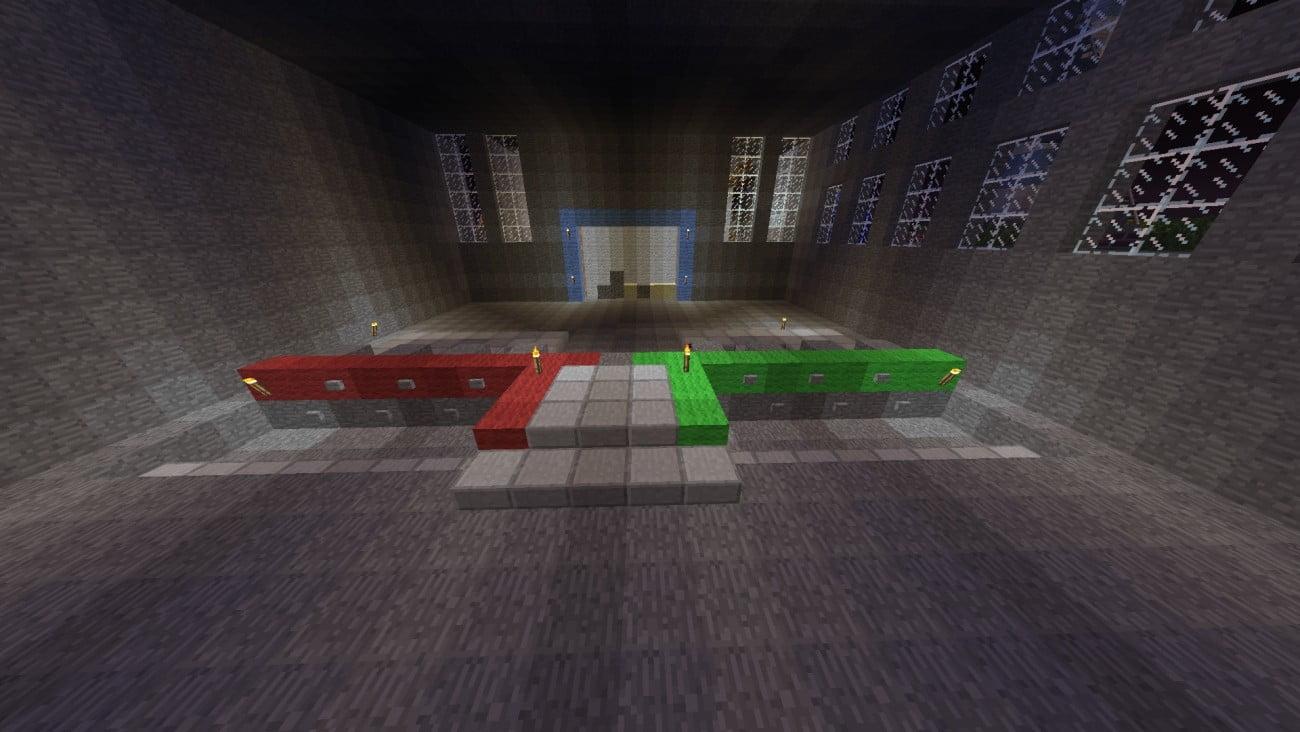 vier gewinnt spiel in minecraft bauen minecraft. Black Bedroom Furniture Sets. Home Design Ideas