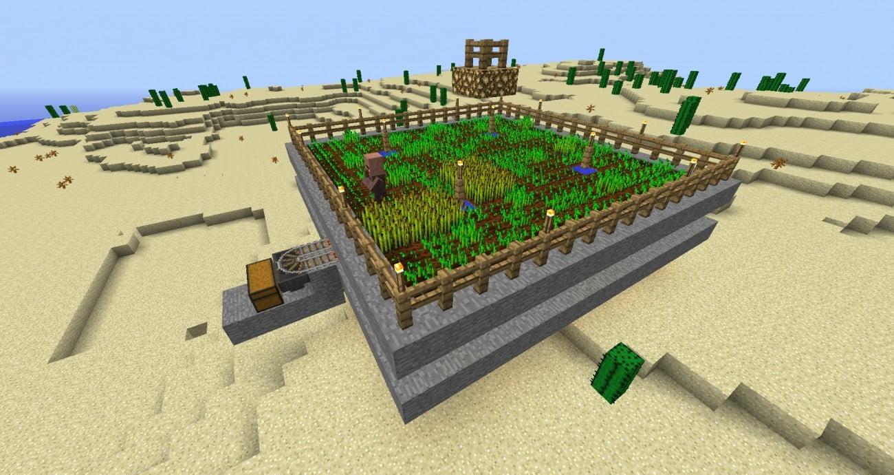 Vollautomatische farm in minecraft bauen minecraft for Bauideen minecraft