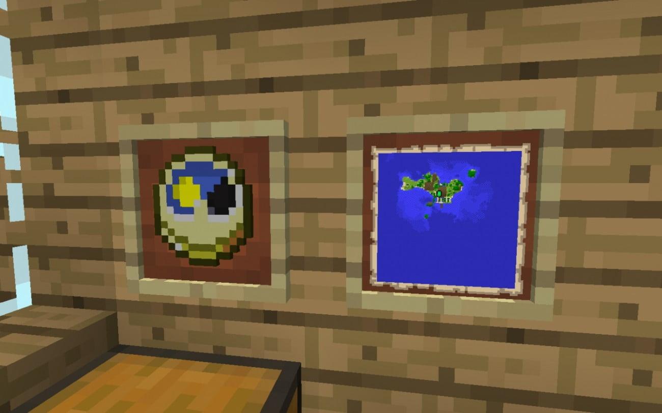 Minecraft Karte.ᐅ Wanduhr Oder Karte In Minecraft Bauen Minecraft Bauideen De