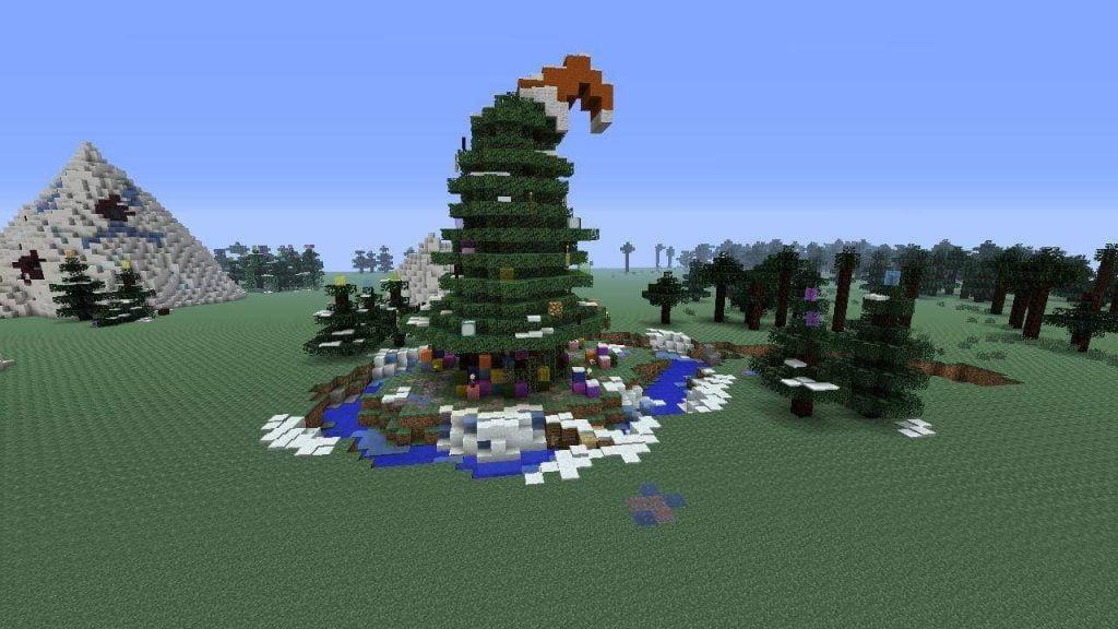 Weihnachtsbaum Minecraft