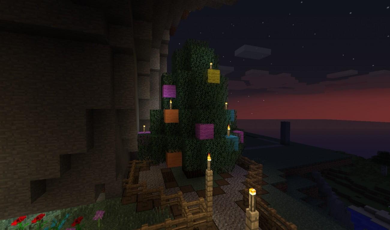 Minecraft Weihnachtsbaum