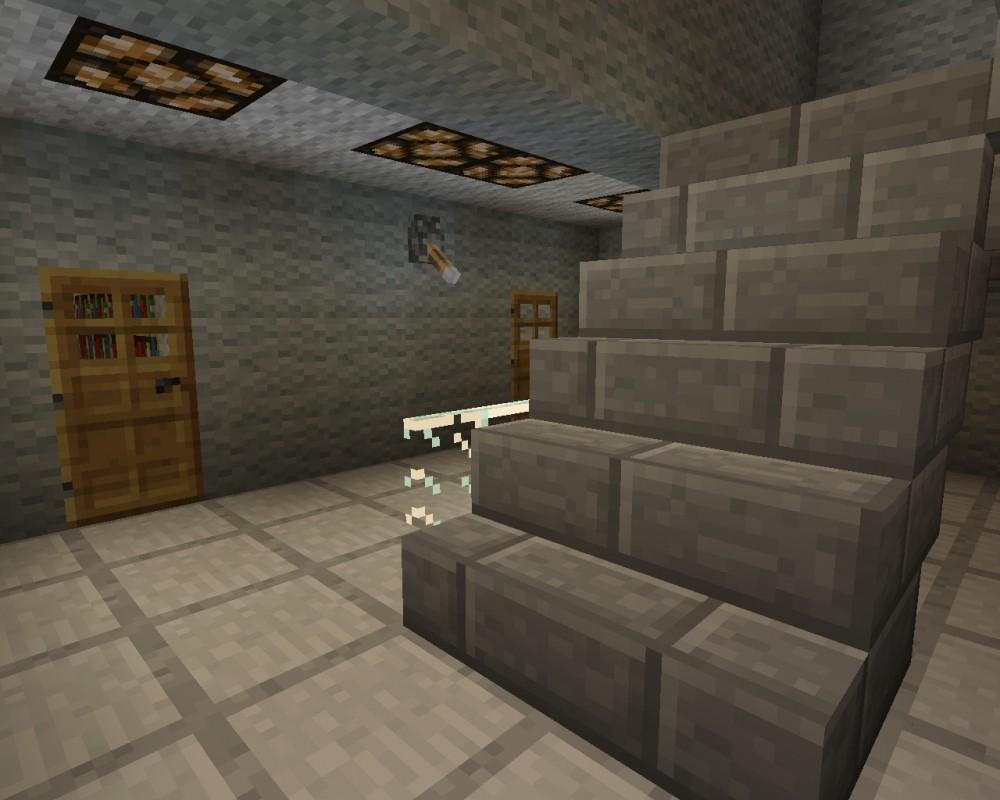 wohnblock in minecraft bauen minecraft. Black Bedroom Furniture Sets. Home Design Ideas