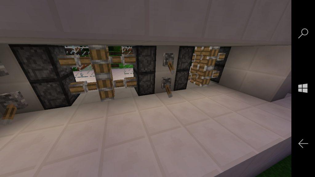 schaltbares sicherungsgitter in minecraft bauen minecraft. Black Bedroom Furniture Sets. Home Design Ideas