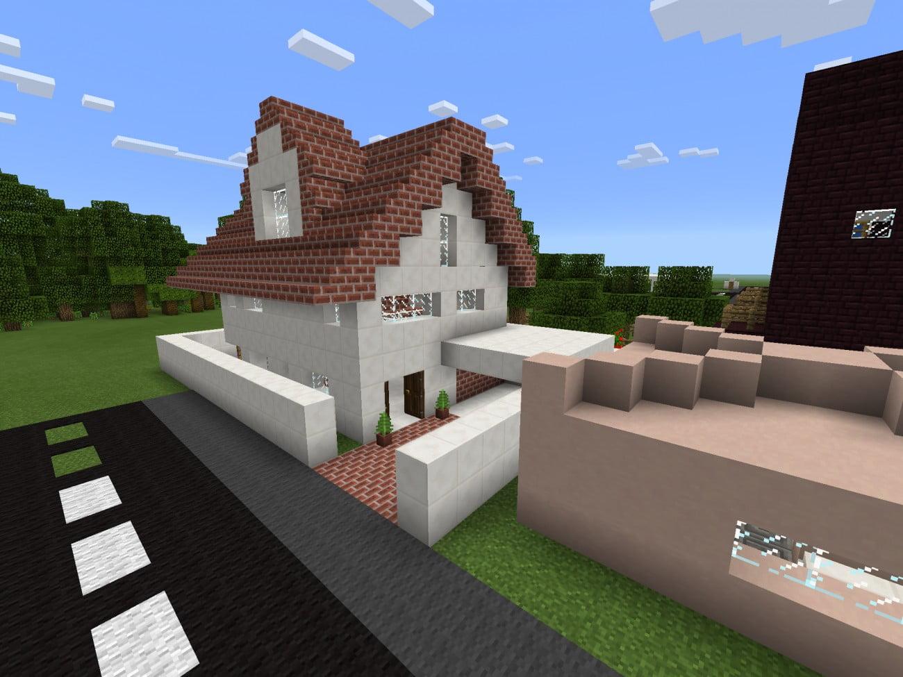 Minecraft Einfamilienhaus ~ Alles über Wohndesign und Möbelideen