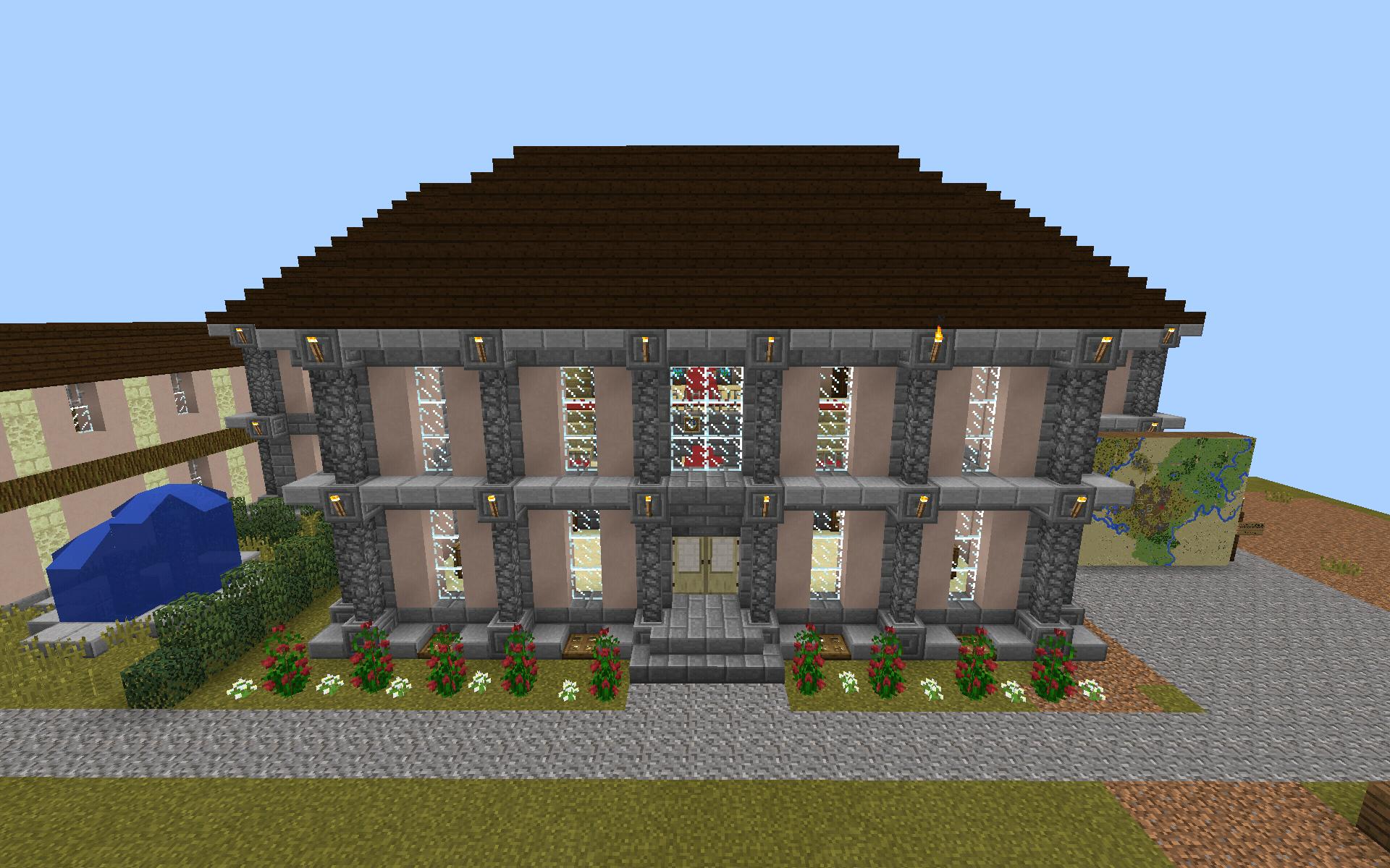 ᐅ Schloss Mohn von Mohnzing in Minecraft bauen - minecraft-bauideen.de